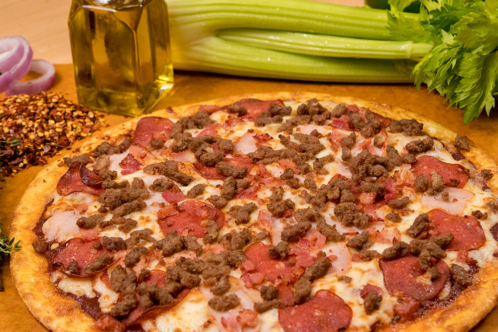 All-Meat Combo Pizza