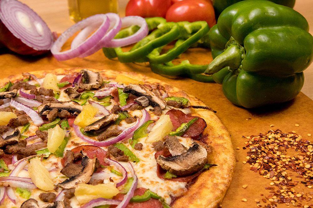 Super Supreme Pizza